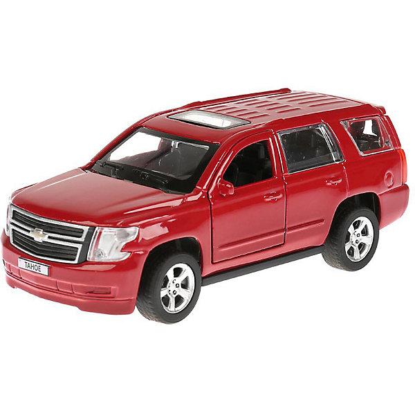 ТЕХНОПАРК Металлическая машинка Технопарк Chevrolet Tahoe, красная
