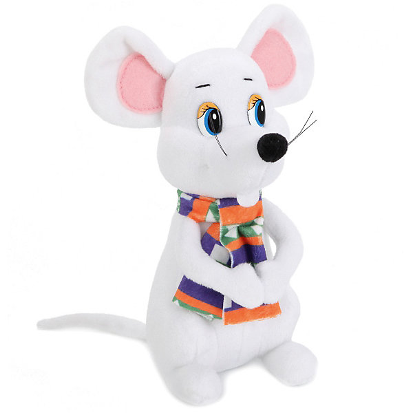 Мульти-Пульти Мягкая игрушка Мульти-Пульти Мышь в шарфе