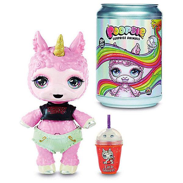MGA Пупс Entertainment Poopsie Surprise Unicorn Лама, 35 см, бело-розовая