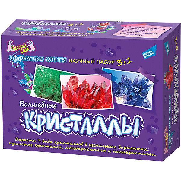 Купить Набор для опытов Dream Makers Волшебные кристаллы , 3 в 1, Беларусь, Унисекс