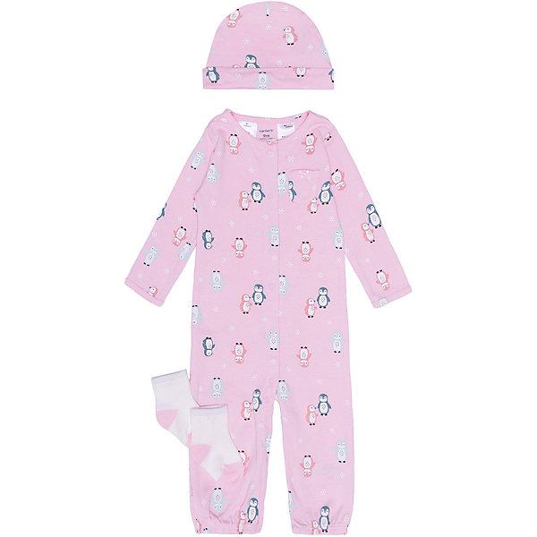 Фото - carter`s Комплект для новорожденного carter's одежда для кукол colibri комбинезон с рубашкой и носочками 3888611