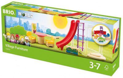 Фото - BRIO Игровой набор Brio Мебель и аксессуары для виллы набор игровой brio супер делюкс город 106 деталей