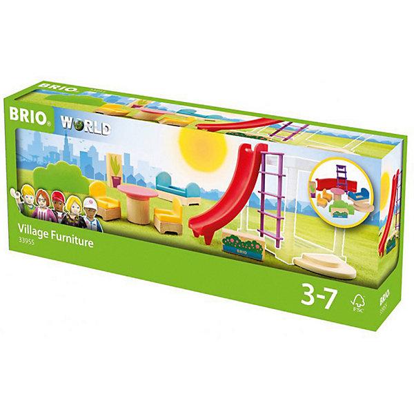 BRIO Игровой набор Brio Мебель и аксессуары для виллы игровой набор brio детская площадка 4 предмета