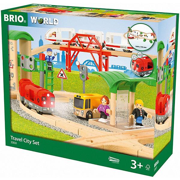 BRIO Железная дорога Brio Городское путешествие, 41 деталь