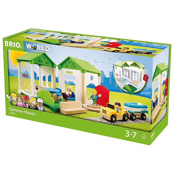 Фото - BRIO Игровой набор Brio Летняя дача коробка рыжий кот 33х20х13см 8 5л д хранения обуви пластик с крышкой