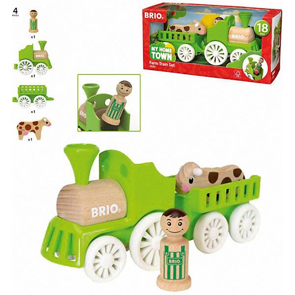 BRIO Игровой набор Brio Мой родной дом Фермерский поезд