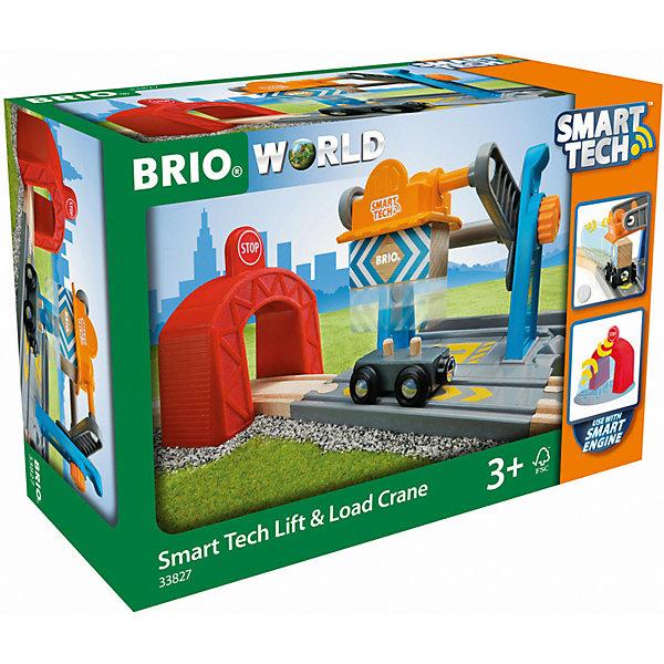 BRIO Игровой набор Brio Smart Tech Туннель с подъёмным краном