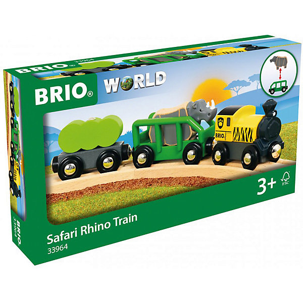 BRIO Игровой набор Brio Носорожье сафари