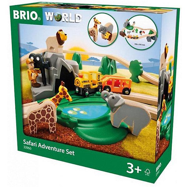 BRIO Железная дорога Brio Сафари, 26 деталей