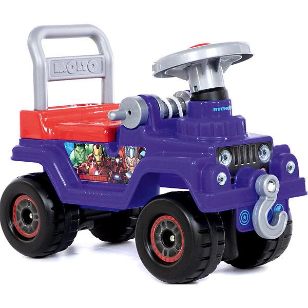 Полесье Машинка-каталка Полесье Marvel Джип Мстители машинка полесье легион 4 пограничный 76304