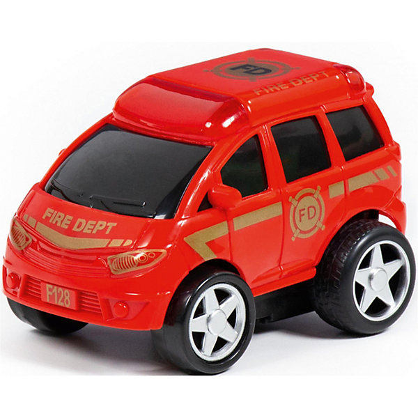 Полесье Машинка Полесье Крутой Вираж Пожарный автомобиль машинка полесье легион 4 пограничный 76304
