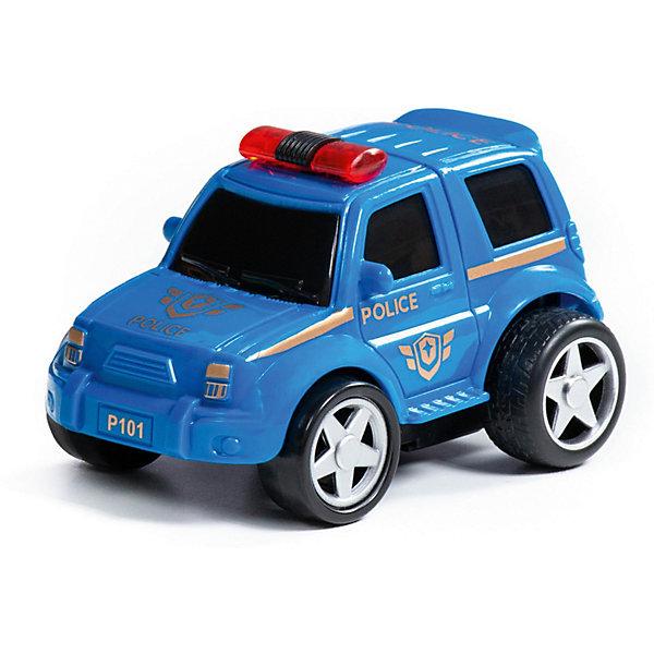 Полесье Машинка Полесье Крутой Вираж Полицейский автомобиль автомобиль с цистерной полесье мой первый грузовик в сеточке 5441