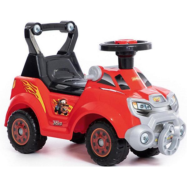 Полесье Машинка-каталка Полесье Disney/Pixar Джип Тачки каталка chilok bo машинка бентли красный 326