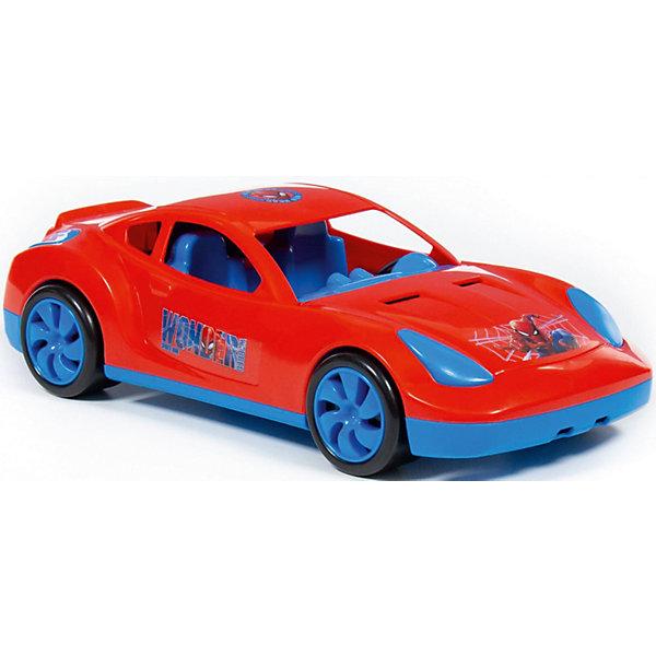 Полесье Машинка Полесье Marvel Мстители Человек-паук полесье набор игрушек для песочницы полесье marvel человек паук 11 4 предмета
