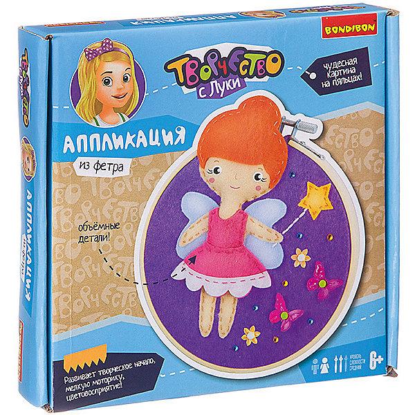Купить Аппликация на пяльцах Bondibon Волшебница-фея , Китай, Унисекс
