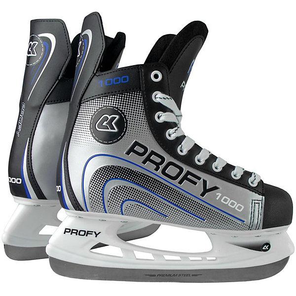 Хоккейные коньки Спортивная коллекция Profy 1000, синие