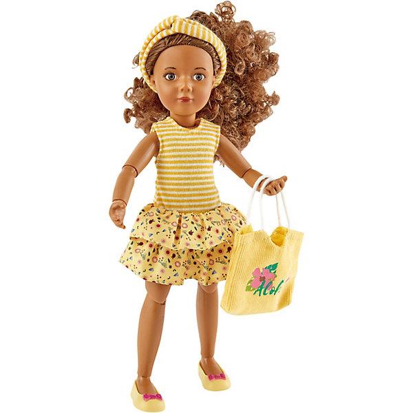 Kruselings Кукла Kruselings Джой в летнем желтом наряде, 23 см