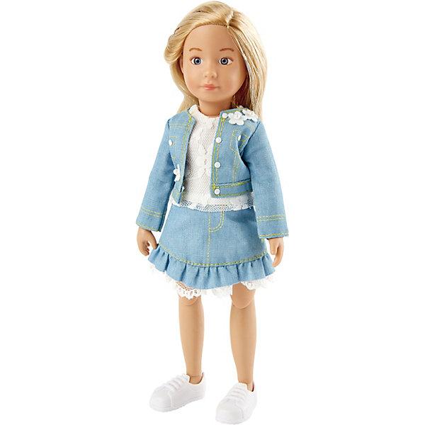 Kruselings Кукла Kruselings Вера в весеннем нарядном костюме, 23 см