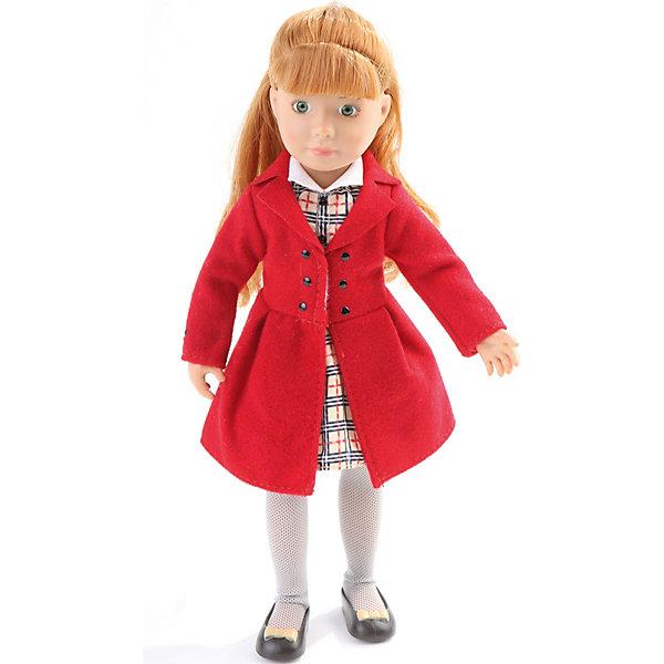 Kruselings Кукла Kruselings Хлоя в красном пальто, 23 см