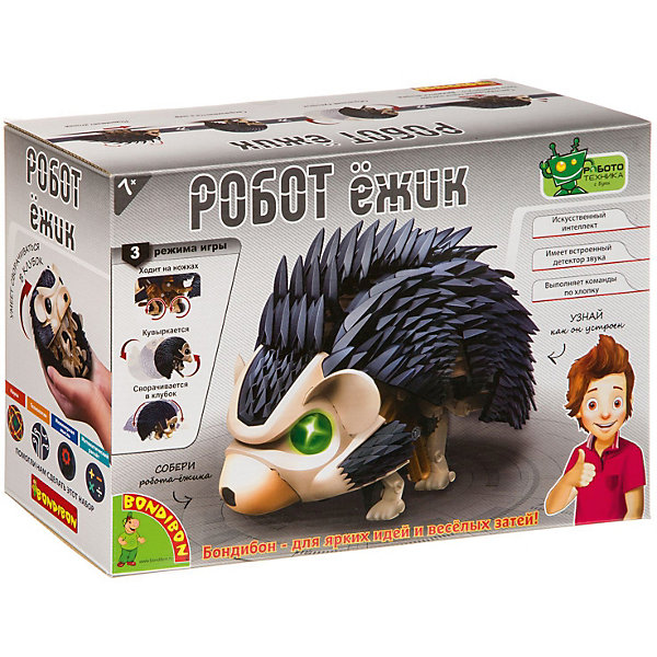 Bondibon Набор Робототехника с Буки Робот - ёжик