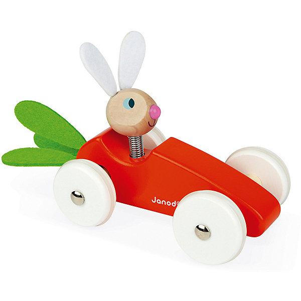 цена на Janod Каталка-машинка Janod Кролик