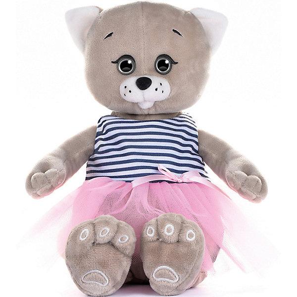Картинка для Мягкая игрушка Колбаскин&Мышель Мышель в розовой юбочке 20 см
