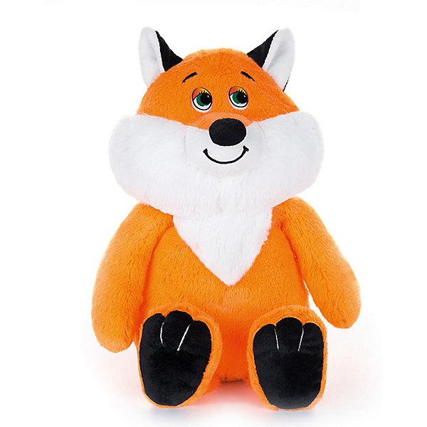 Maxitoys Мягкая игрушка Maxi Play Лисенок Рыжуля озвученный, 22 см
