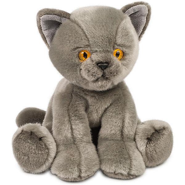 Maxitoys Мягкая игрушка MaxiLife Котик серый
