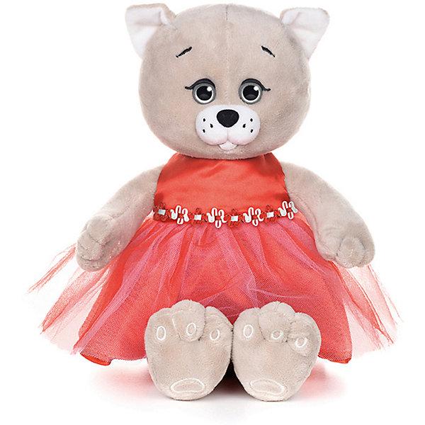 Картинка для Мягкая игрушка Колбаскин&Мышель Мышель в красном платье 20 см