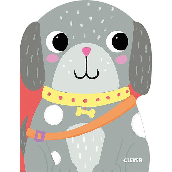 книжки картонки Clever Сказка Книжки-картонки Собачка Тоня, Жардин Х.