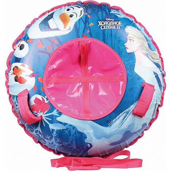 Купить Тюбинг 1Toy Disney Холодное сердце, 120 см, Россия, разноцветный, Женский