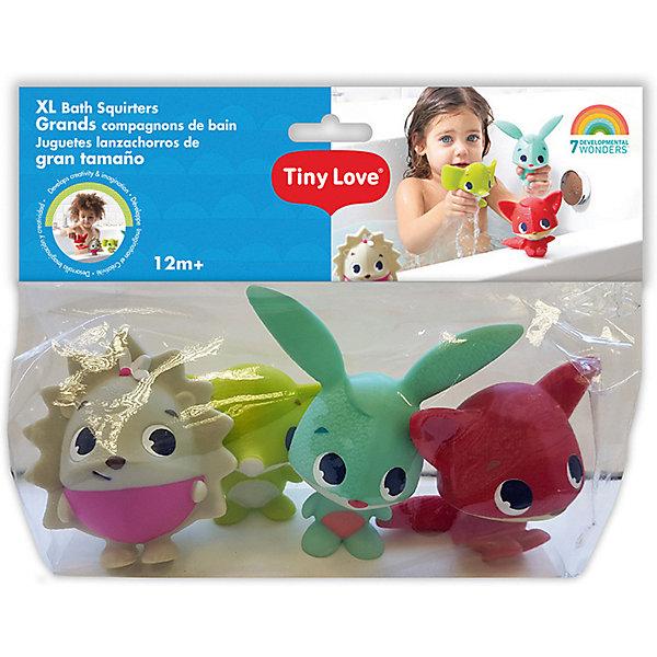 Tiny Love Набор игрушек пищалок для ванны Tiny Love курносики 25110 набор игрушек брызгалок для ванны гномики 3 шт