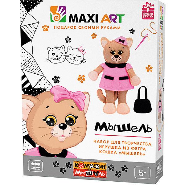Maxi Art Набор для творчества Maxi Art Игрушка из фетра Коша Мышель