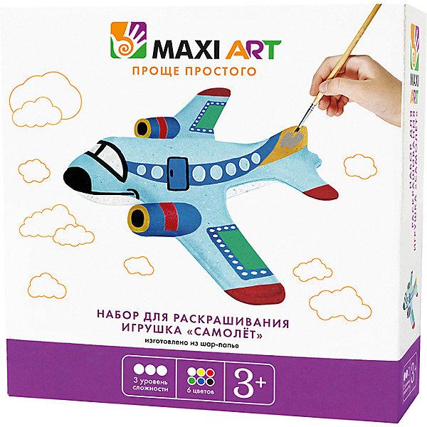 Maxi Art Набор для раскрашивания Игрушка Самолёт