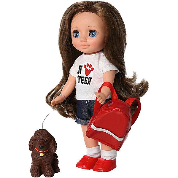 Купить Кукла Весна Ася Приключения с Кудряшиком , 26 см, Россия, разноцветный, Женский