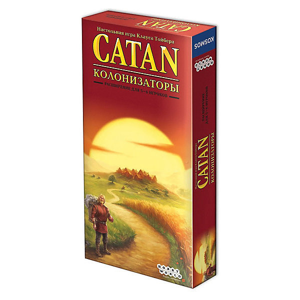 Купить Дополнение для настольной игры Hobby World Catan. Колонизаторы. Расширение для 5-6 игроков , Россия, Унисекс