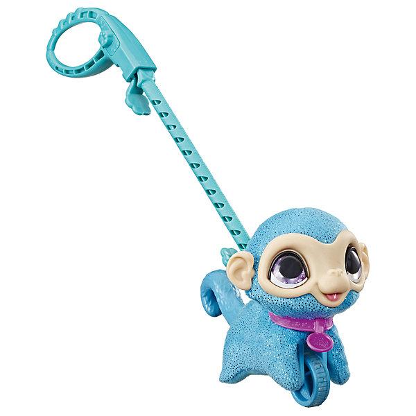 Hasbro Мягкая игрушка FurReal Friends Маленький питомец на поводке Обезьянка