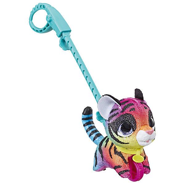 цена на Hasbro Мягкая игрушка FurReal Friends Маленький питомец на поводке Тигренок