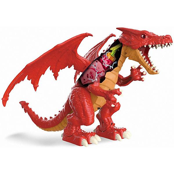 1Toy Радиоуправляемая игрушка Zuru RoboAlive Робо-дракон Пламень