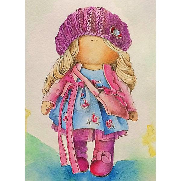 ТМ Цветной Набор для создания картины из мозаики Кукла Ника