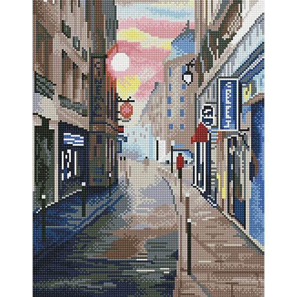 ТМ Цветной Набор для создания картины из мозаики Переулок