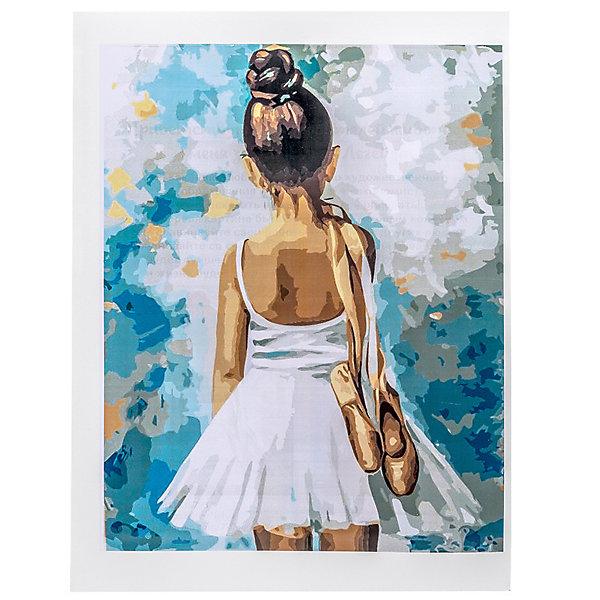 Купить Набор для раскрашивания по номерам Цветной Маленькая балерина , ТМ Цветной, Китай, Унисекс