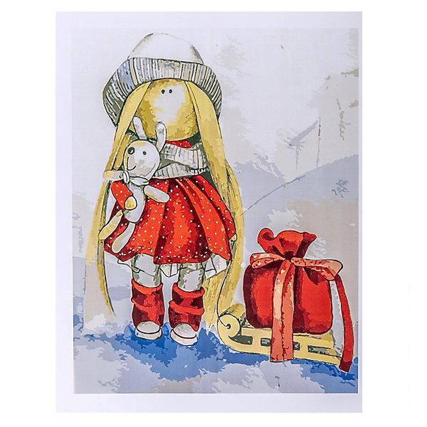 Купить Набор для раскрашивания по номерам Цветной Кукла Даша , ТМ Цветной, Китай, Унисекс