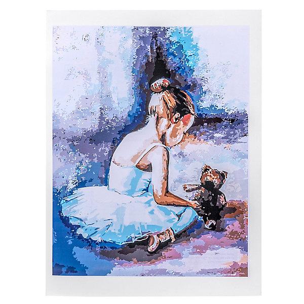 """Набор для раскрашивания по номерам Цветной """"Балерина. Первые шаги"""""""