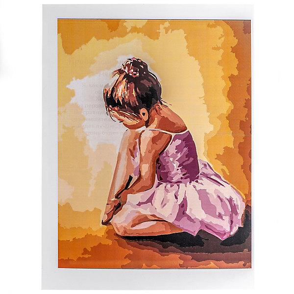 Купить Набор для раскрашивания по номерам Цветной Балерина малышка , ТМ Цветной, Китай, Унисекс