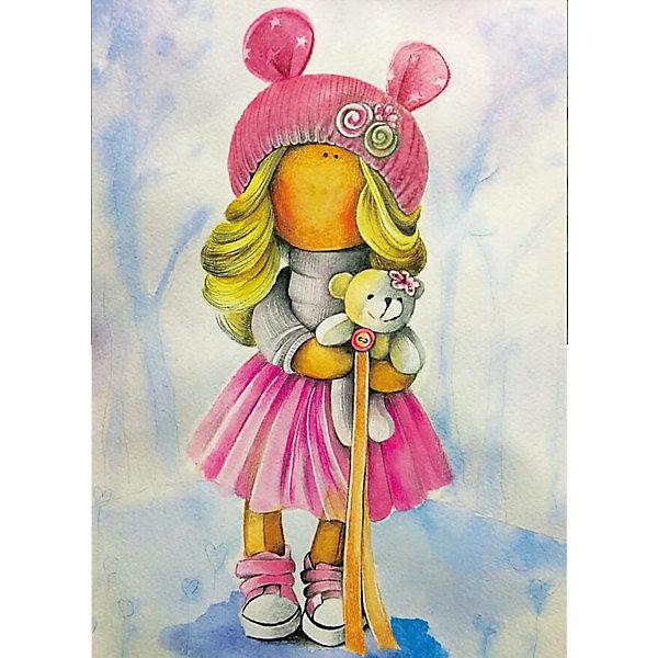 ТМ Цветной Набор для создания картины из мозаики Кукла Лера