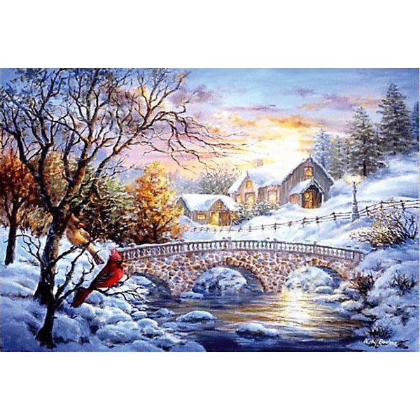 ТМ Цветной Набор для создания картины из мозаики Зимний пейзаж