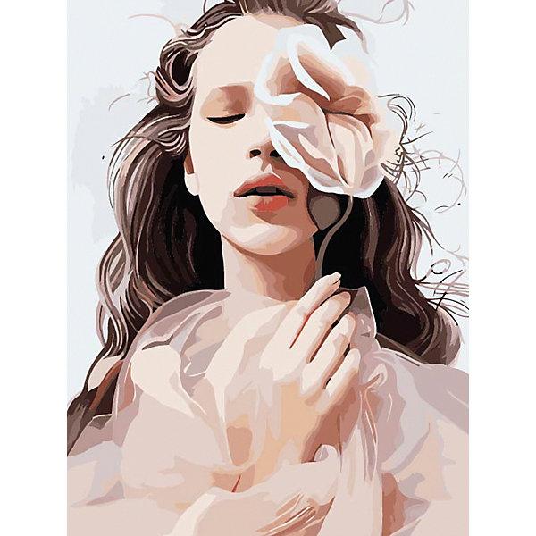 Купить Набор для раскрашивания по номерам Цветной Нежная красота , ТМ Цветной, Китай, Унисекс