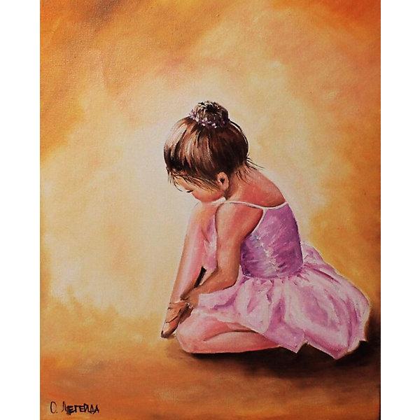 ТМ Цветной Набор для создания картины из мозаики Балерина малышка