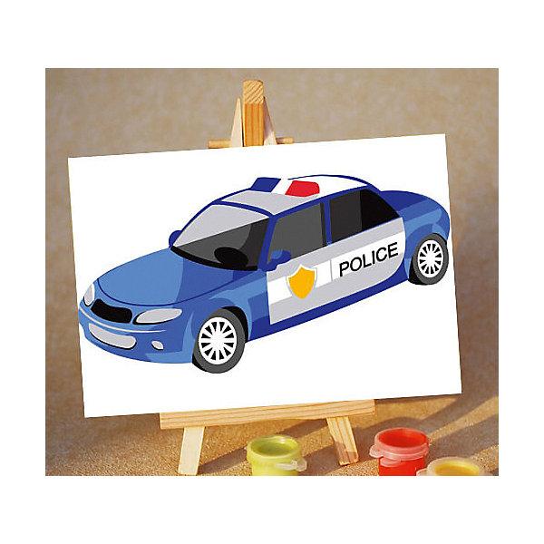 ТМ Цветной Набор для раскрашивания по номерам Цветной Полицейская машинка